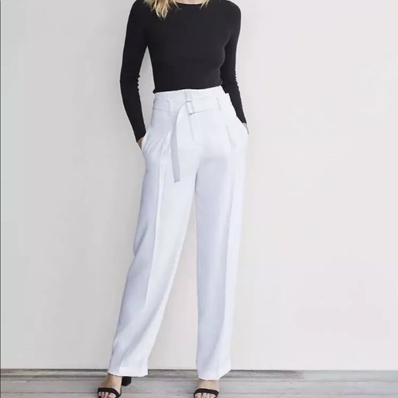 1d3e7dea5 Express Pants | Karlie Kloss Wide Leg High Waist Pant | Poshmark
